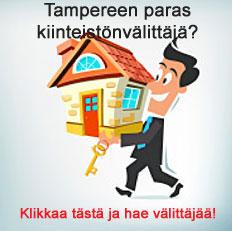 Paras kiinteistönvälittäjä Tampere