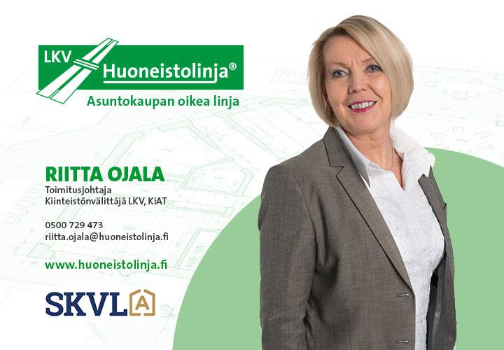 Kiinteistönvälittäjä Riitta Ojala - Huoneistolinja LKV - Tampere