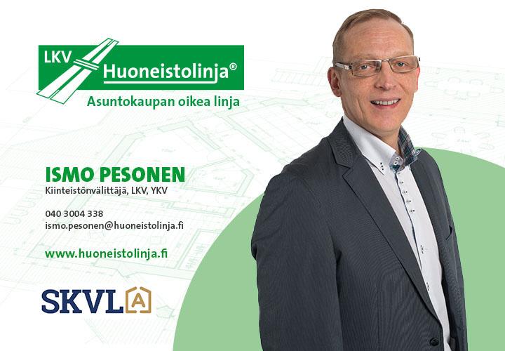 Kiinteistönvälittäjä Ismo Pesonen - Huoneistolinja LKV - Tampere
